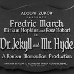 Bir Film Önerisi: Dr. Jekyll ve Bay Hyde